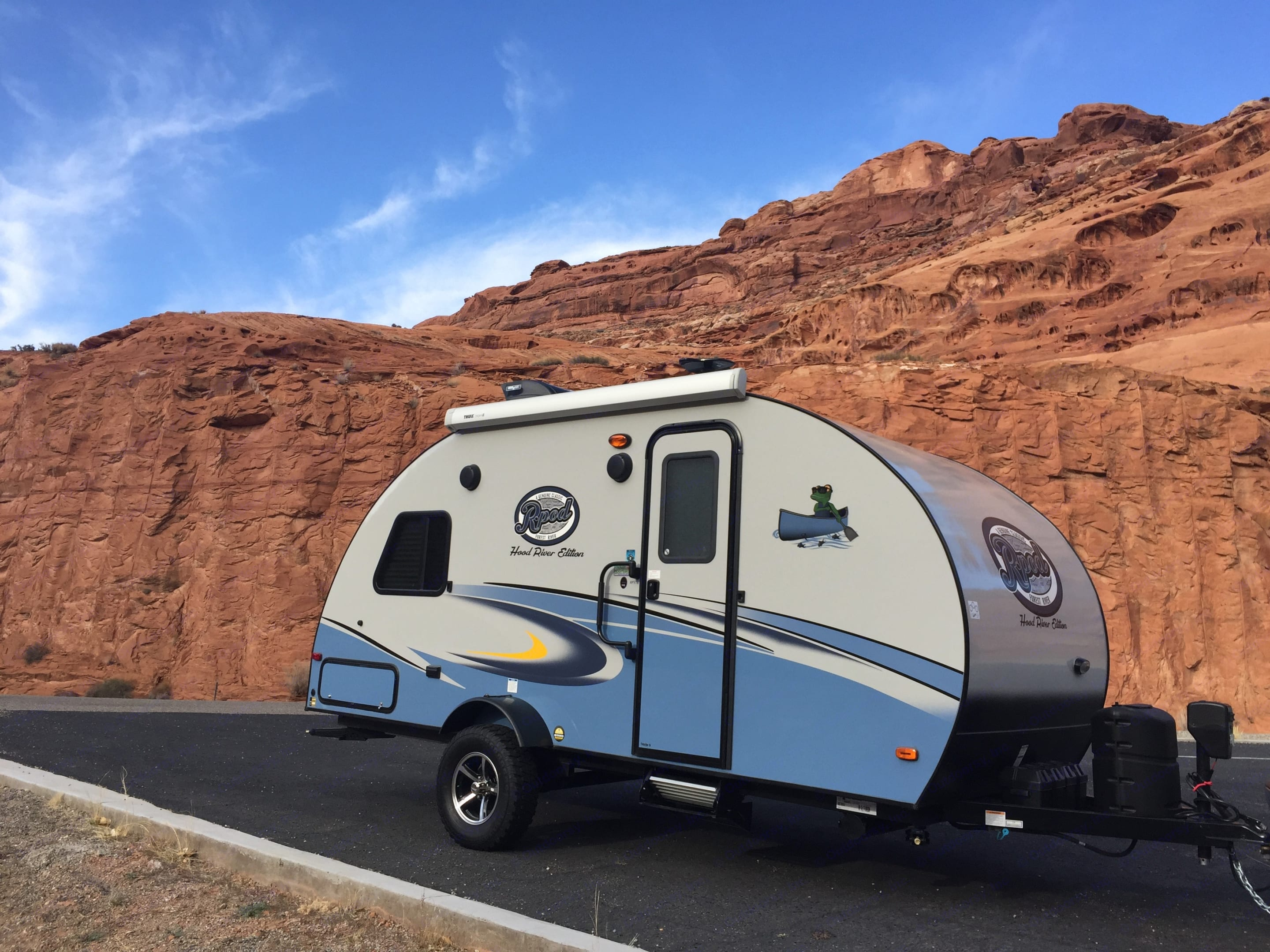 Goes to rugged places, like in the way to Monument Valley!. Forest River R-Pod (RP 176) 2018