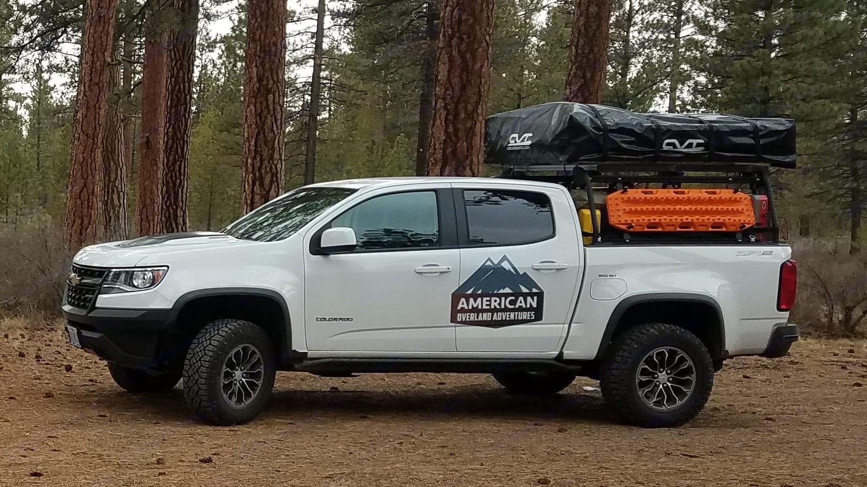 Chevy Colorado ZR2 Diesel 2018