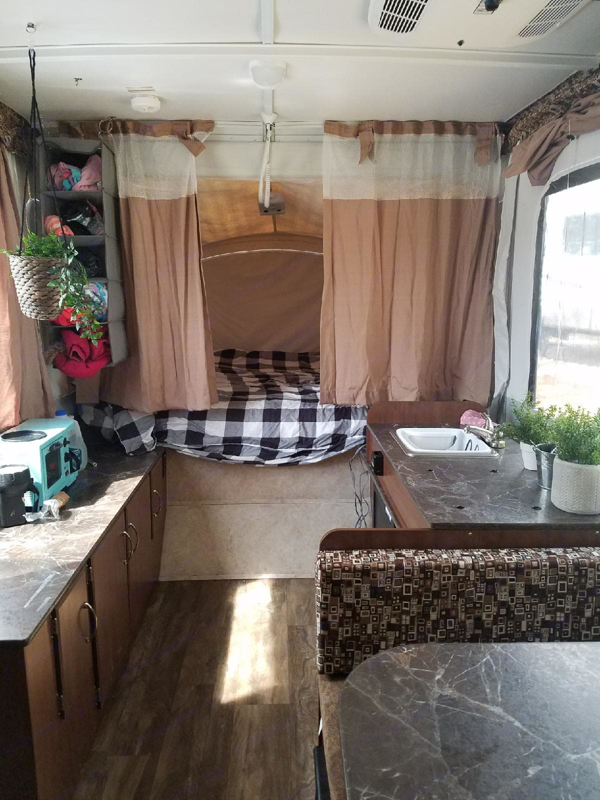 Coffee maker/toaster, ganging storage, plants, all will be in the camper for your yse.. Jayco Sport 2017
