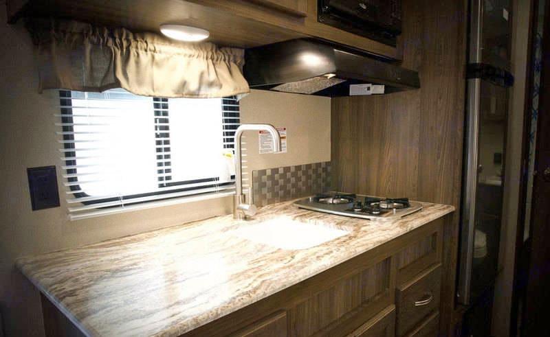 Kitchen area. Riverside Rv Dream 175BH 2018