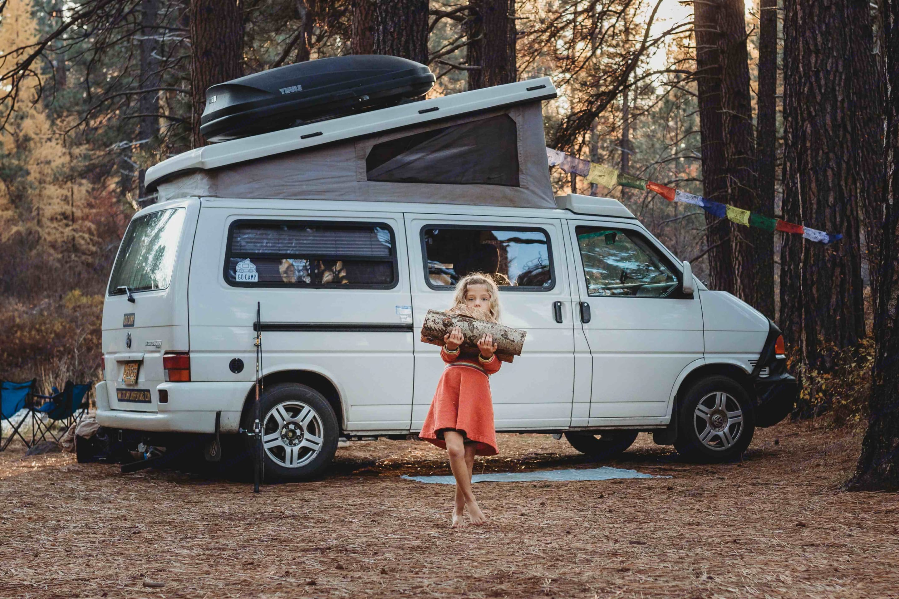 This Eurovan Camper is the perfect place to hang streamers!. Volkswagen Eurovan Camper 2002