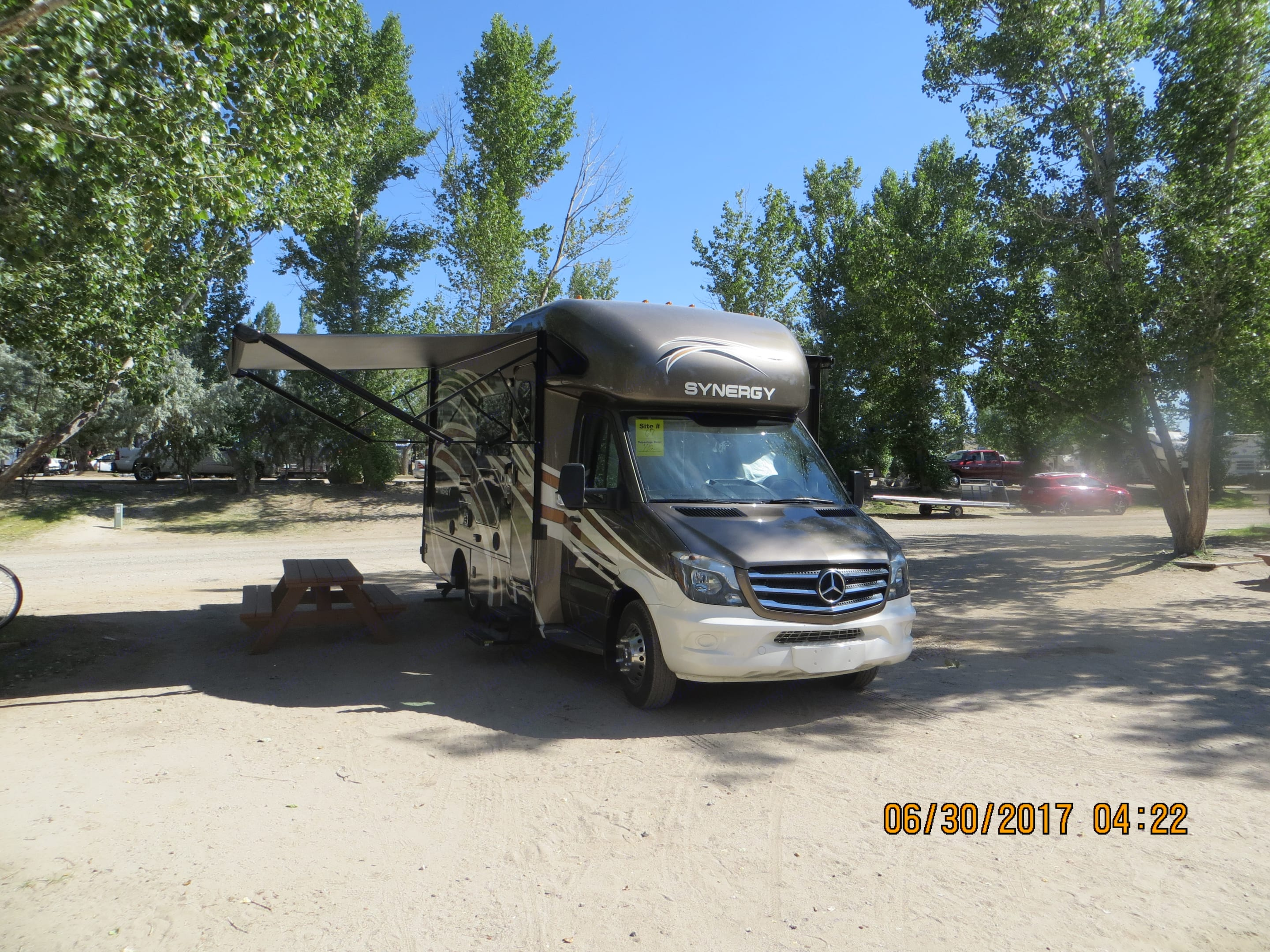 This was our 1st weekend outing to the Walker River RV Resort. Thor Motor Coach Other 2017