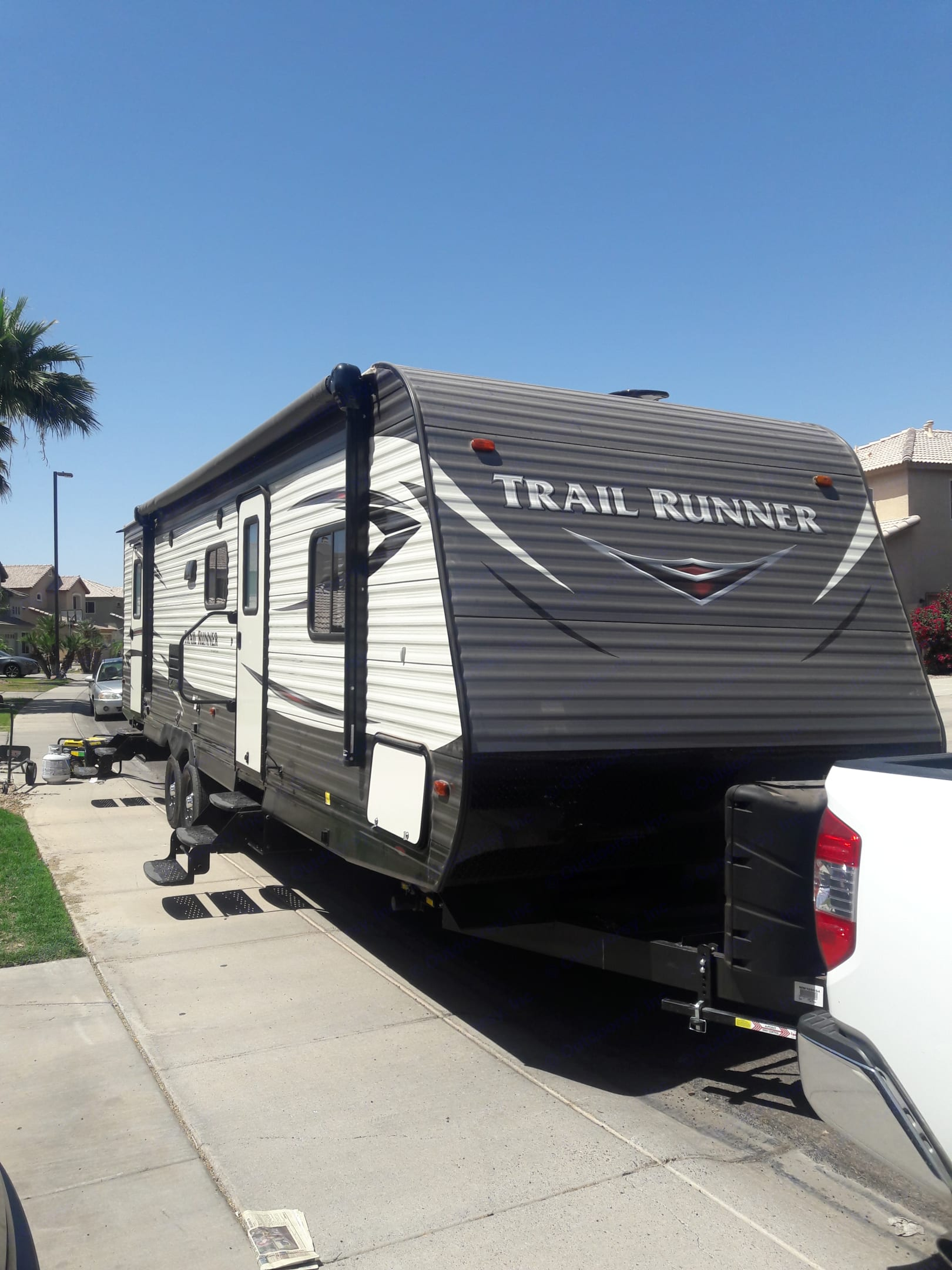 Front entry side. Heartland Trail Runner 2018