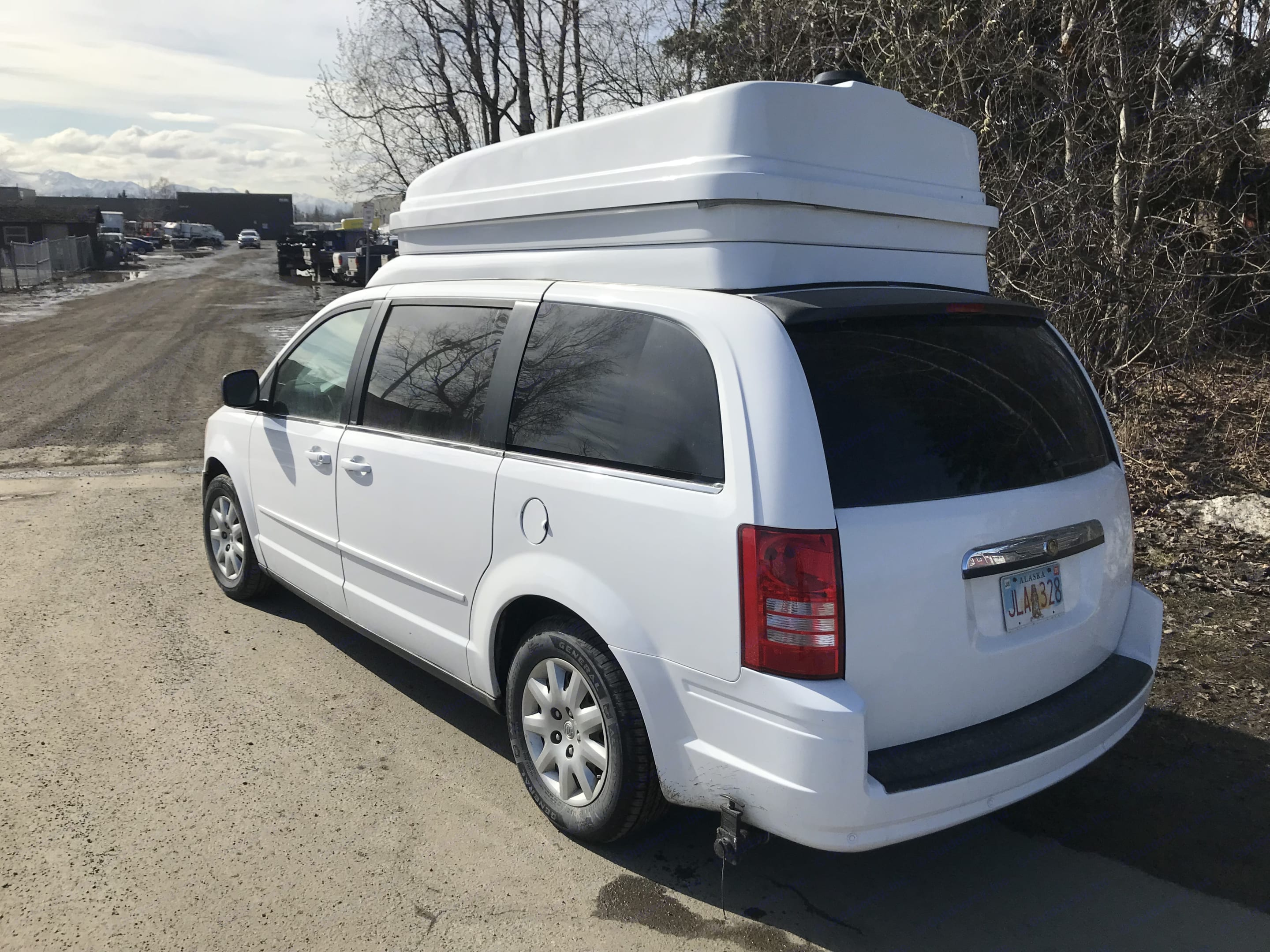 Right Rear Ext. chrysler Town/Country Jucy Conversion 2010