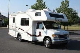 2000 Ford Tioga. (This is a stock image - real images coming soon). Fleetwood Tioga 2000