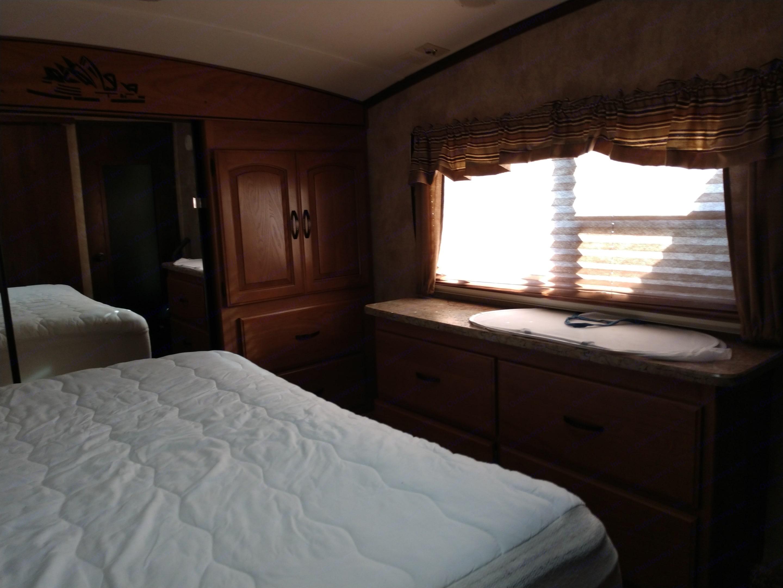 Master Bedroom. Keystone Outback 2013