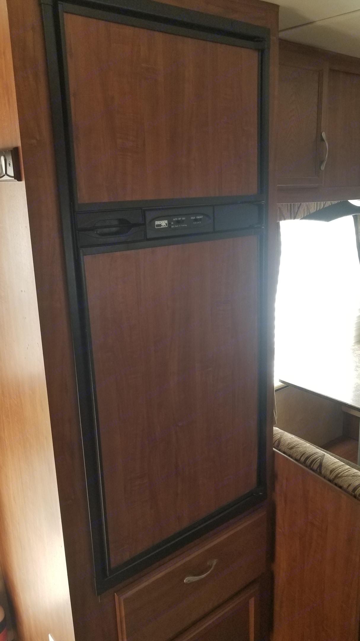 Large fridge with freezer.. Jayco Jay Flight 2011