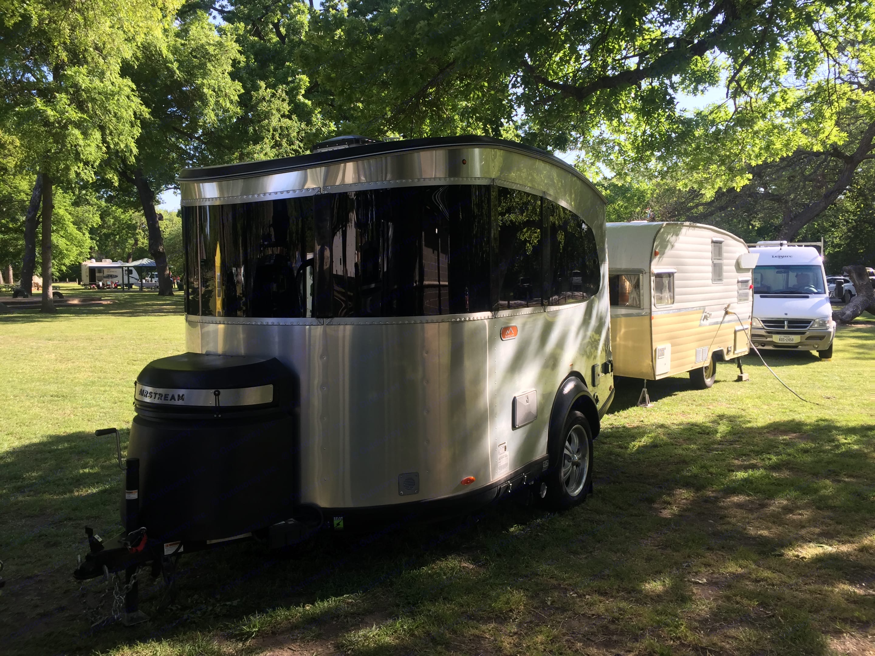 At an event. Airstream Base Camp 2017