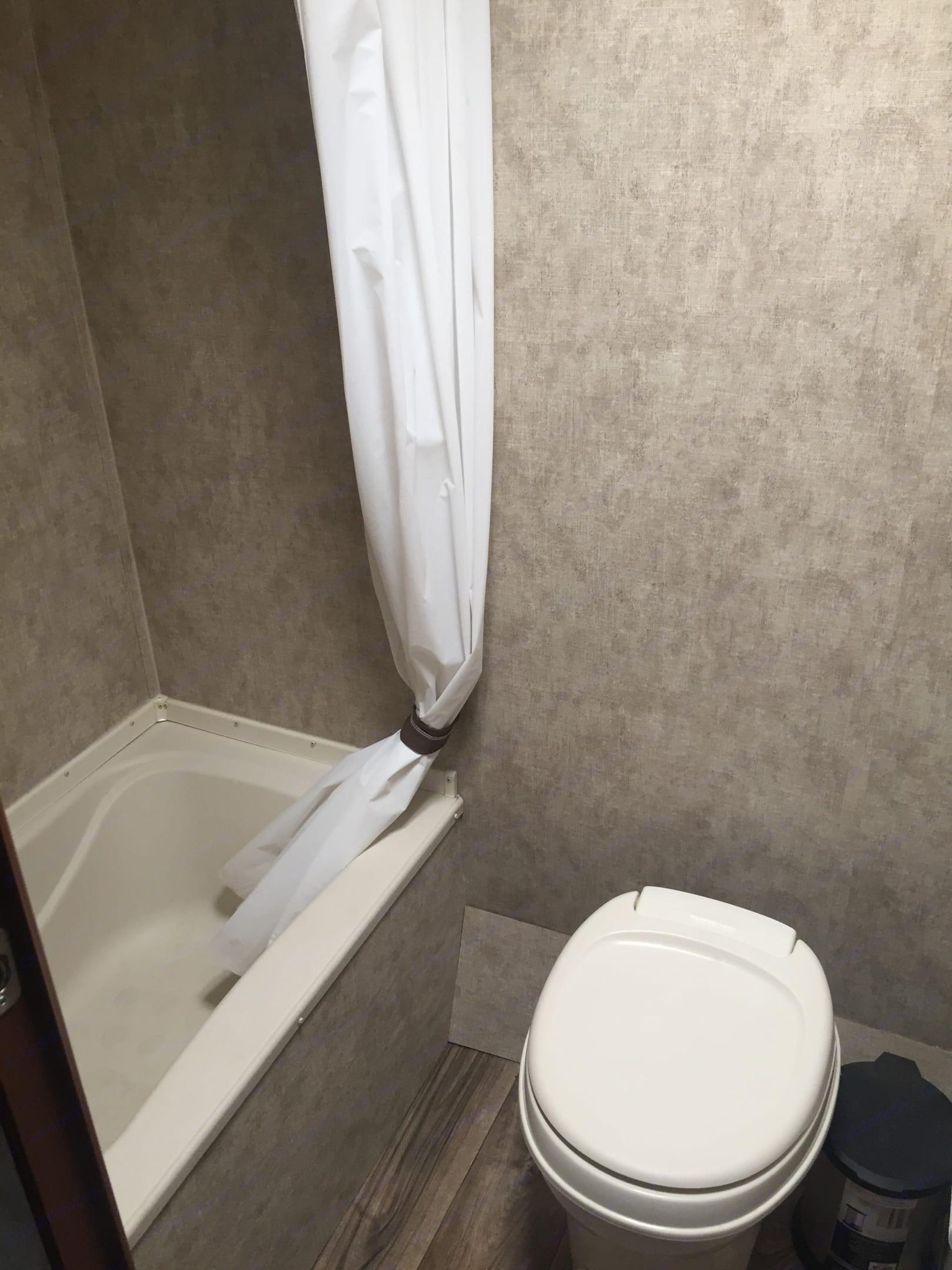 Bathroom. Prime Time Avenger 2015