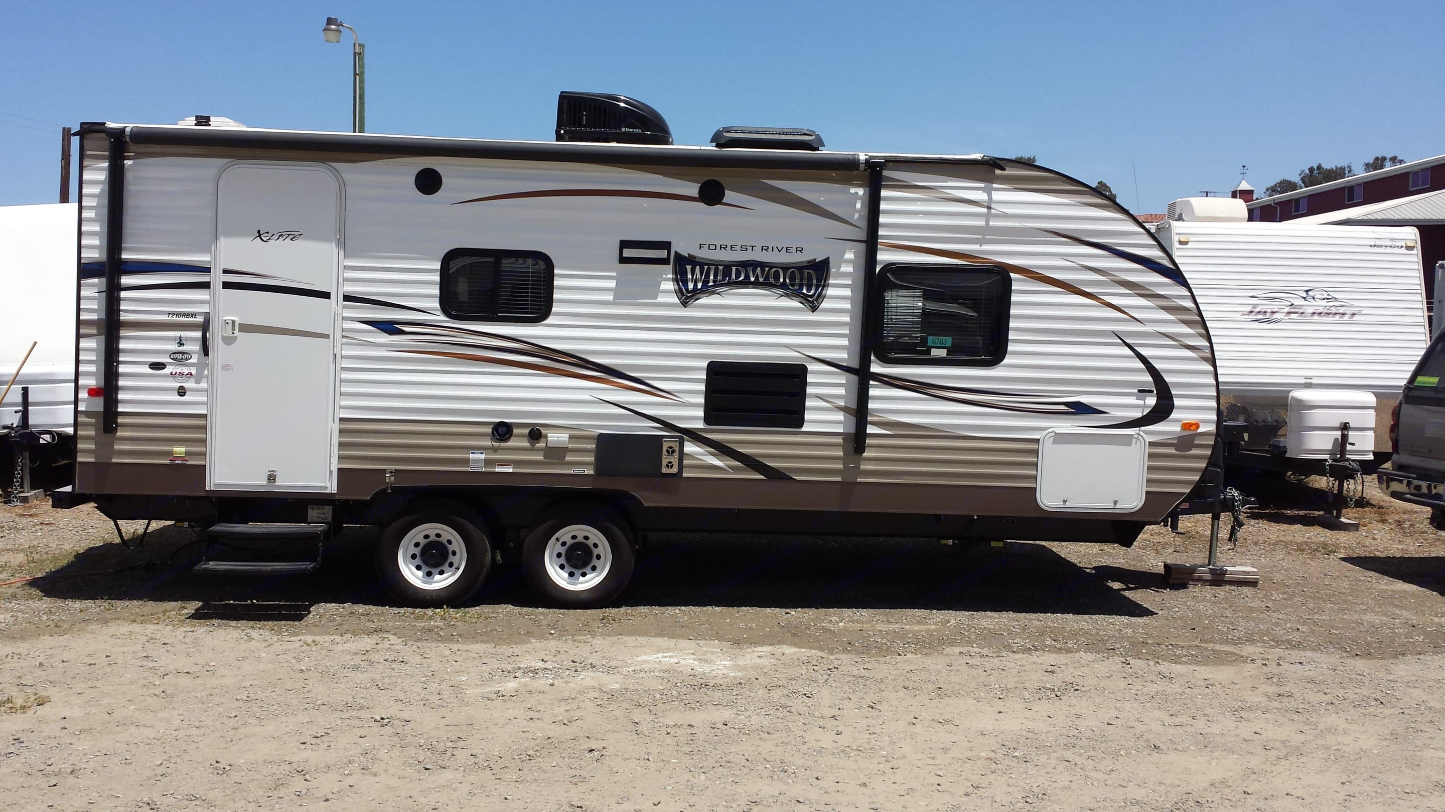 Our fabulous travel trailer. Wildwood 32qbss Other 2017