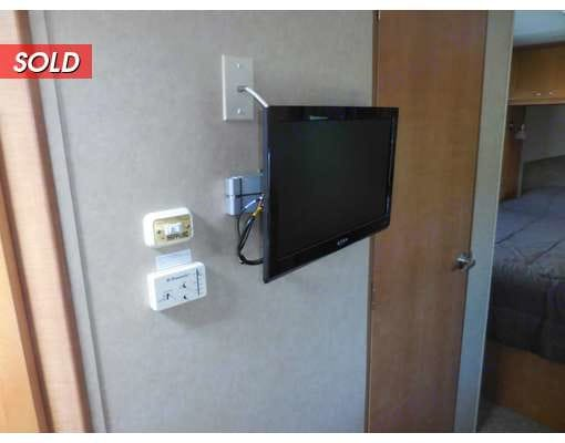 2 TV's are included (one in bedroom and one in couch area).. Cruiser Rv Corp View Finder 2009