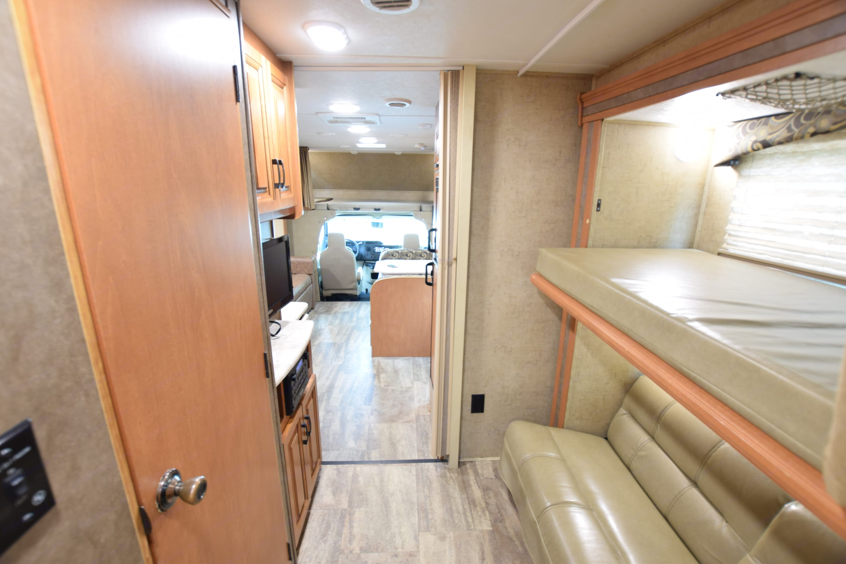 View From Master. Forest River Sunseeker 2016