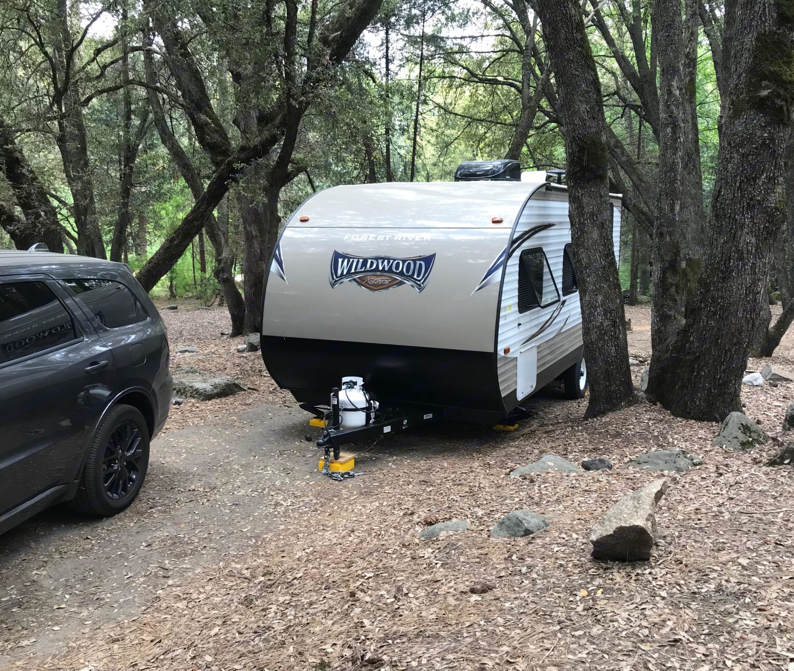 Fits easily in most campgrounds at only 21 ft.. Forest River Wildwood X-Lite 2018