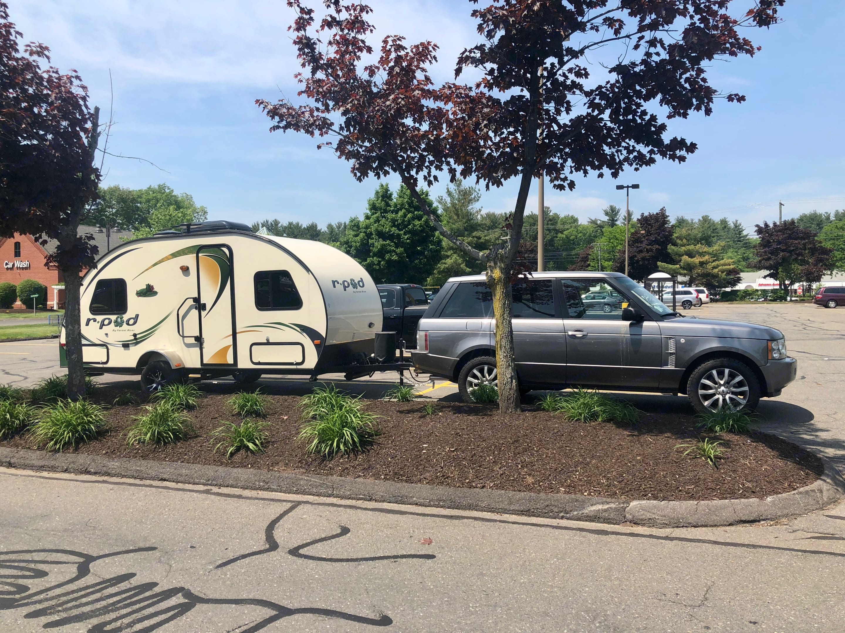 Easy to tow with a small tow vehicle.  If you don't have a trailer brake controller, I have a wireless unit available.. Forest River R-Pod M178 2014