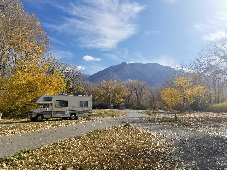 Fall in Utah! . Fleetwood Tioga Montara 1988