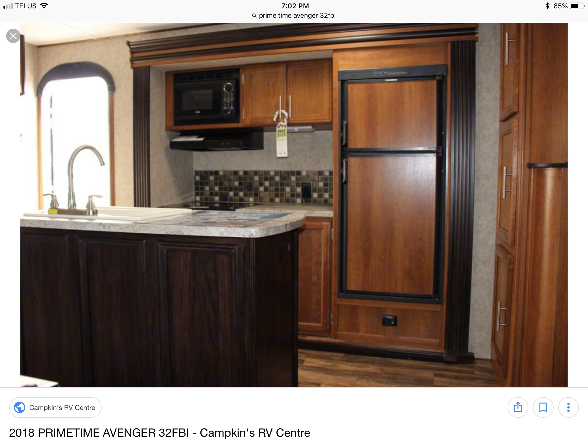 Spacious preparation and cooking area with island sink . Prime Time Avenger 2016