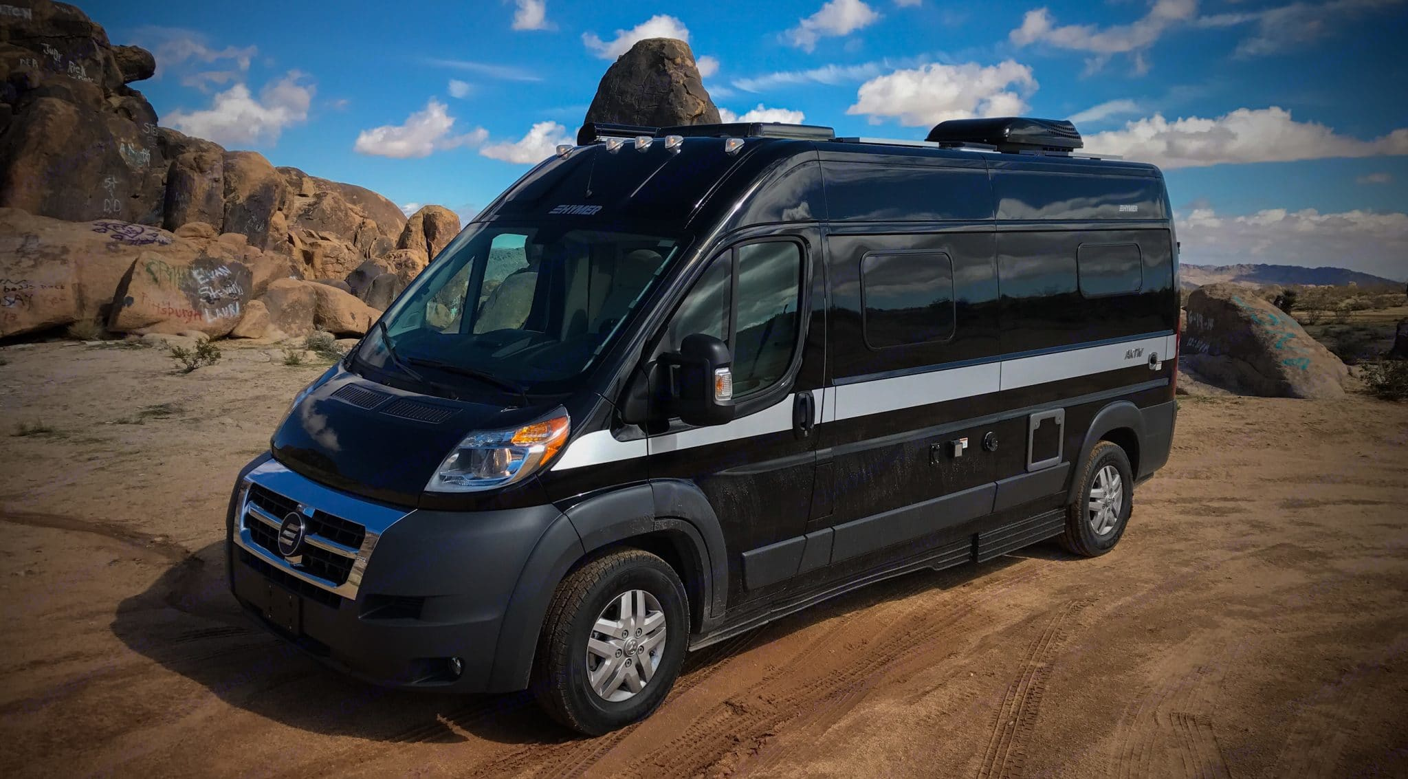 Go where no other can go!. Hymer Aktiv 2018