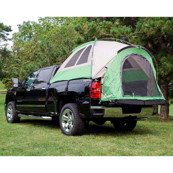Truck Tent without the rain protection on. Napier 13044 2015