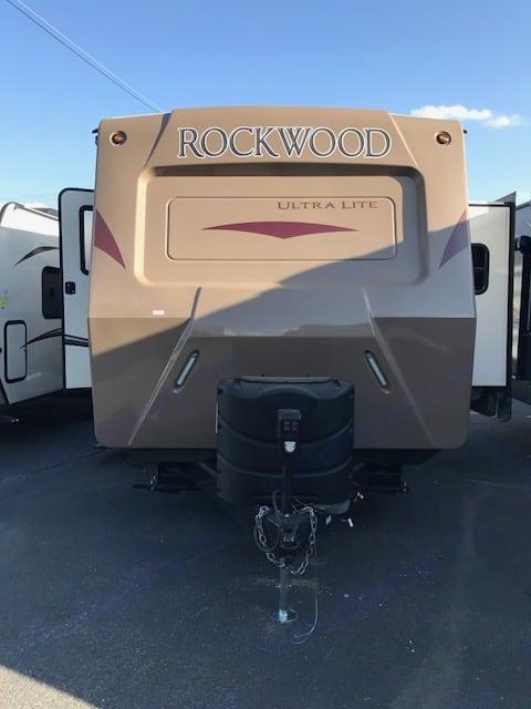 Front of Trailer. Forest River Rockwood 2017