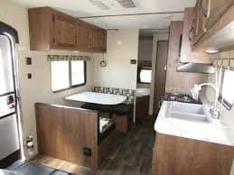 View of back with bunk beds.. Starcraft Autumn Ridge 2019