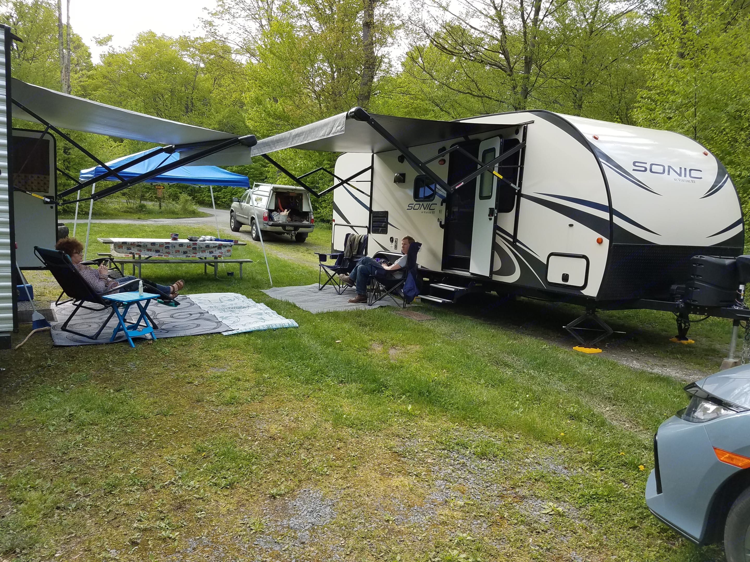Easy Campering at its finest!. Venture Rv Sonic 2018