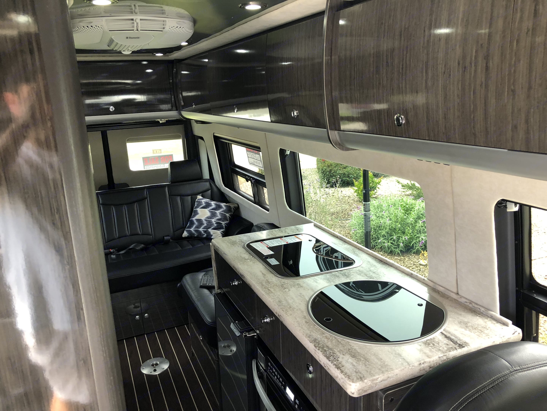 Coach interior. Airstream Interstate Lounge EXT 2016