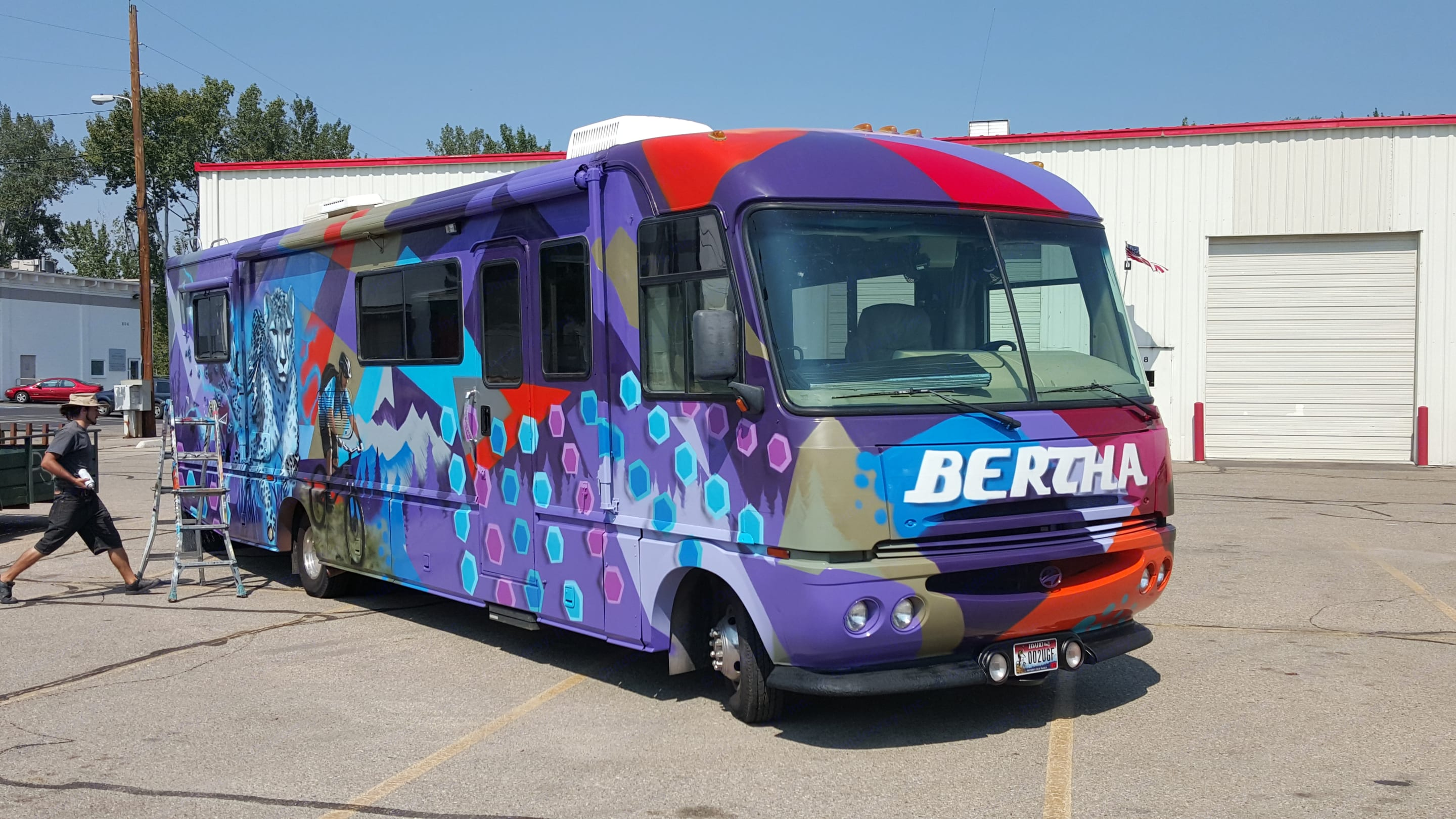You'll never see another RV like Bertha!. Fleetwood pace arrow 1996