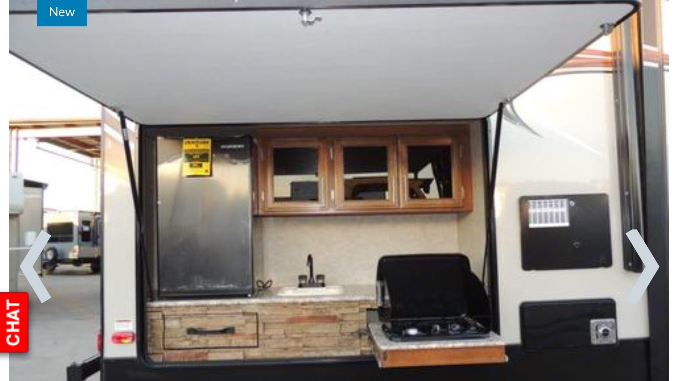 Outdoor kitchen. Prime Time Lacrosse 2017