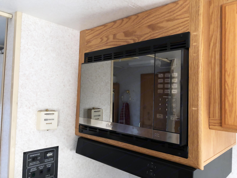 New upgraded microwave.. Winnebago Vista 2002