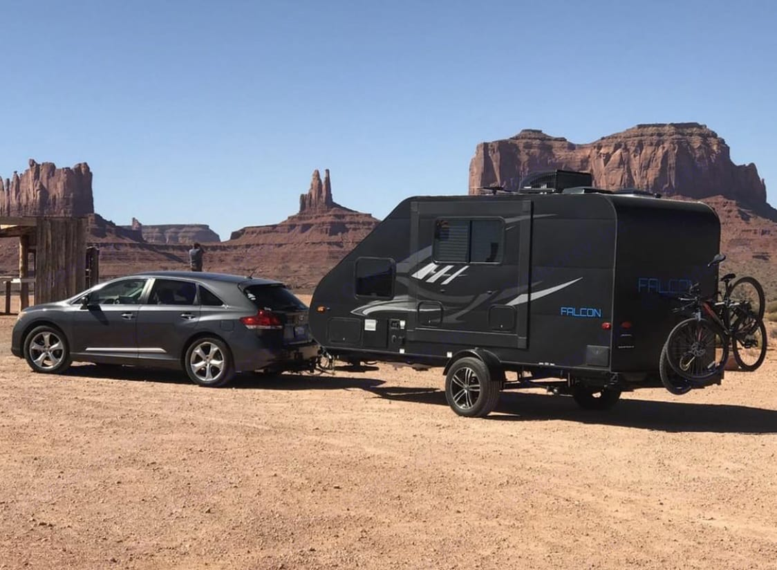 Great trailer to take anywhere on your adventures!. Travel Lite F-21RB 2018