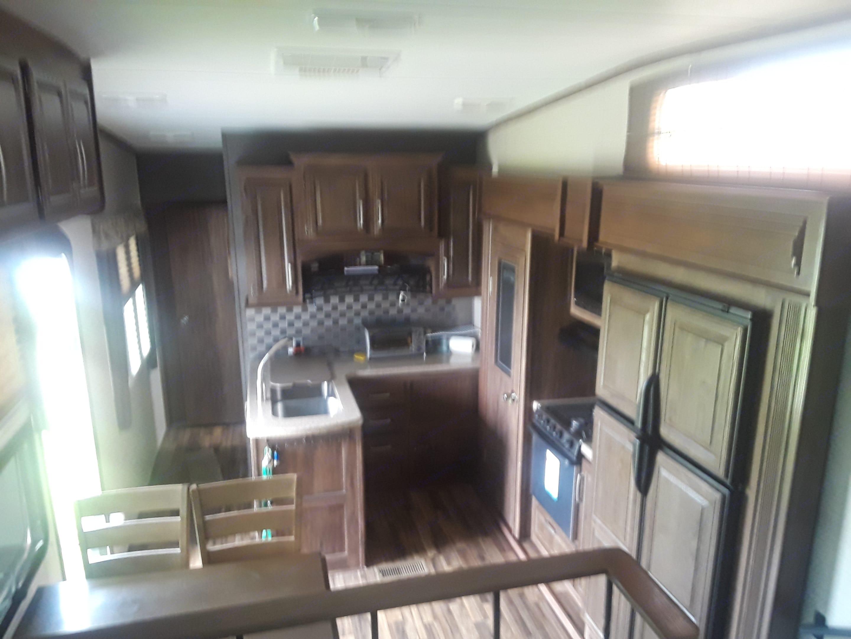Kitchen view. Keystone Cougar 2015