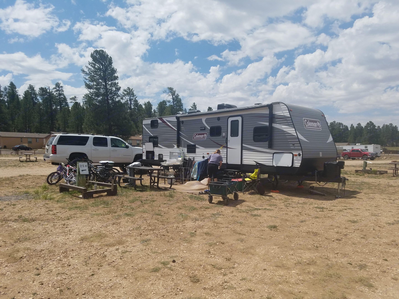 Camping at the Grand Canyon!. Coleman Lantern 2018