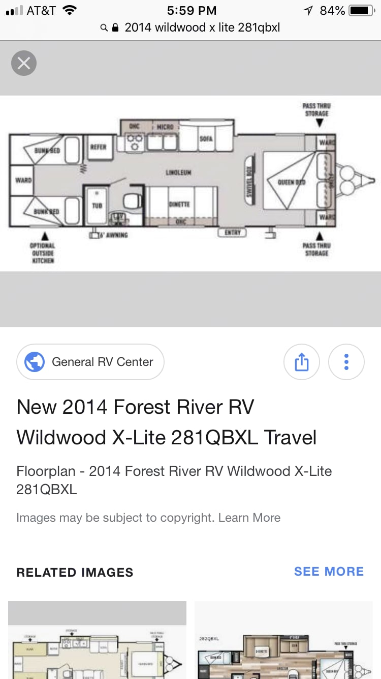 Forest River Wildwood X-Lite 2014