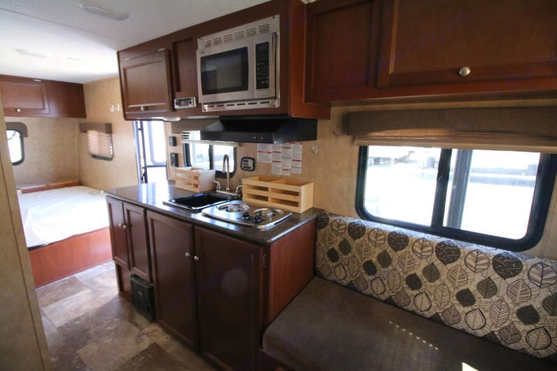 Don't be deceived ... this is on spacious little camper!. Coachmen Clipper 2015