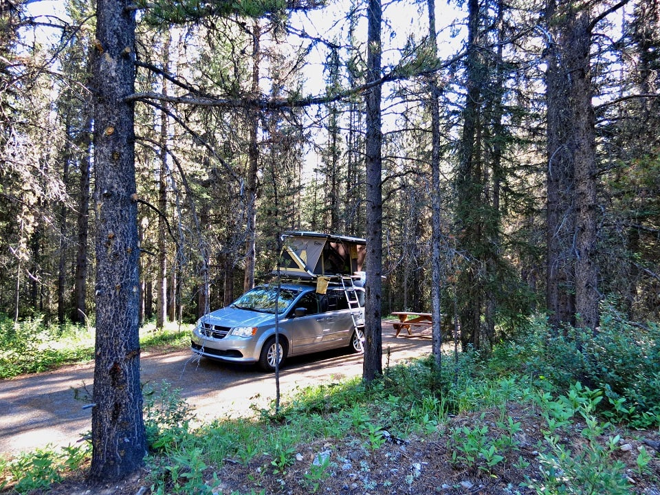 Be the coolest camper on the campground! . Dodge Grand Caravan 2015