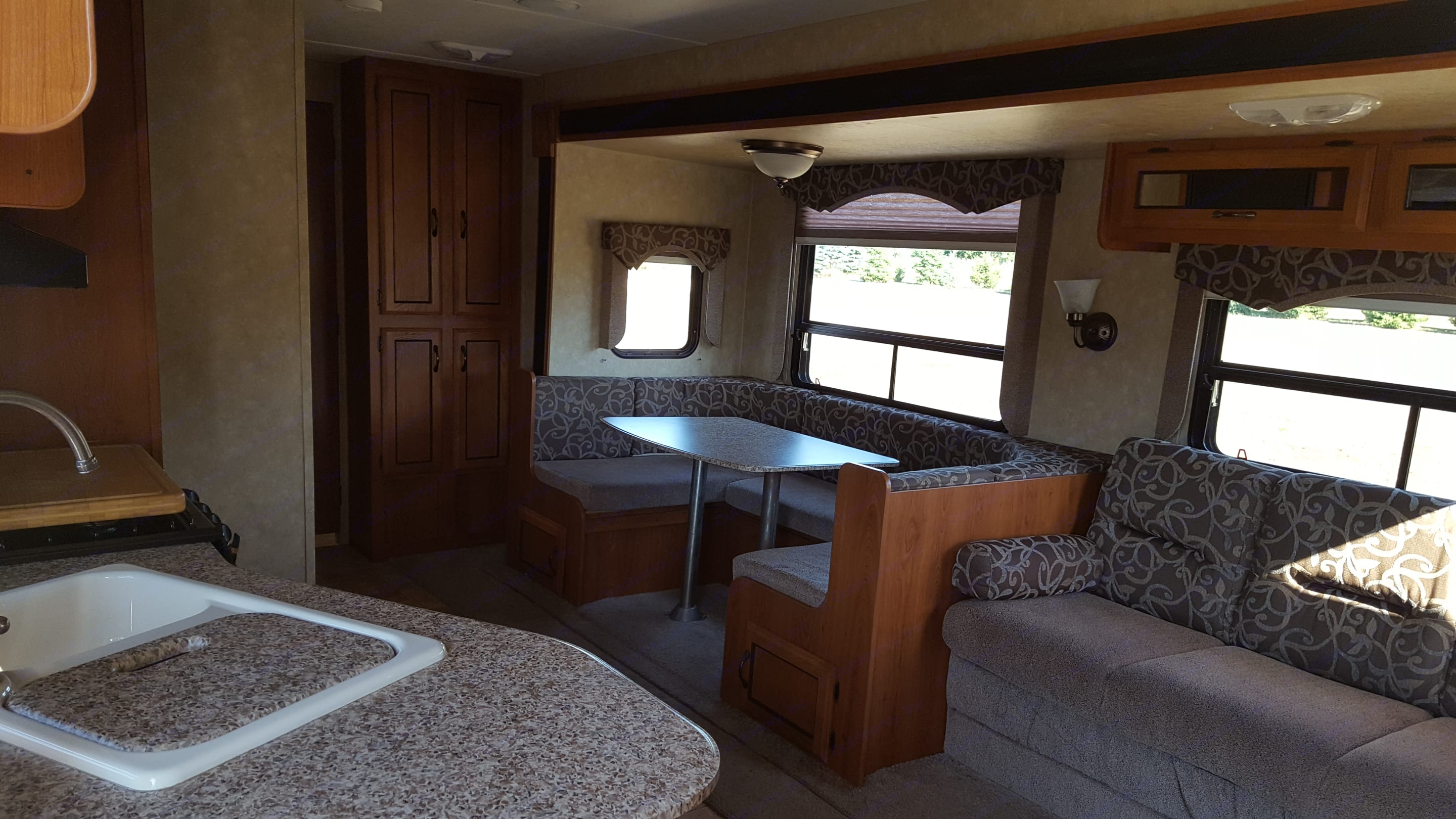 View from entrance. Coachmen Catalina 2012