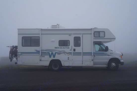 Our Minnie Winnie is smaller than many RVs which allows you to get to some places and maneuver it around a little easier.. Winnebago Minnie 2001