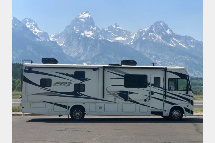 Grand Tetons, WY. Forest River Fr3 2019