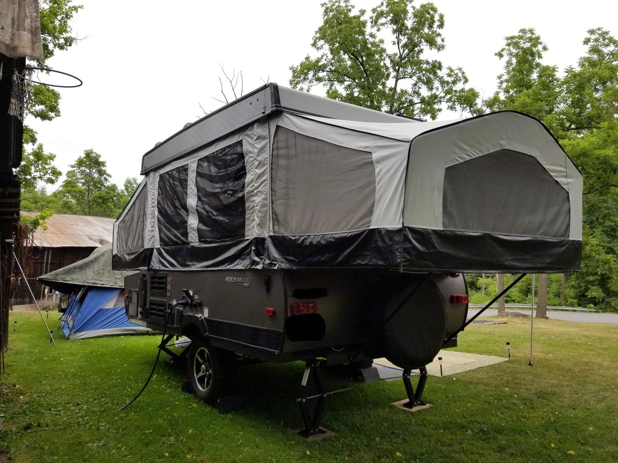 Rear view. Forest River Rockwood Freedom 2017