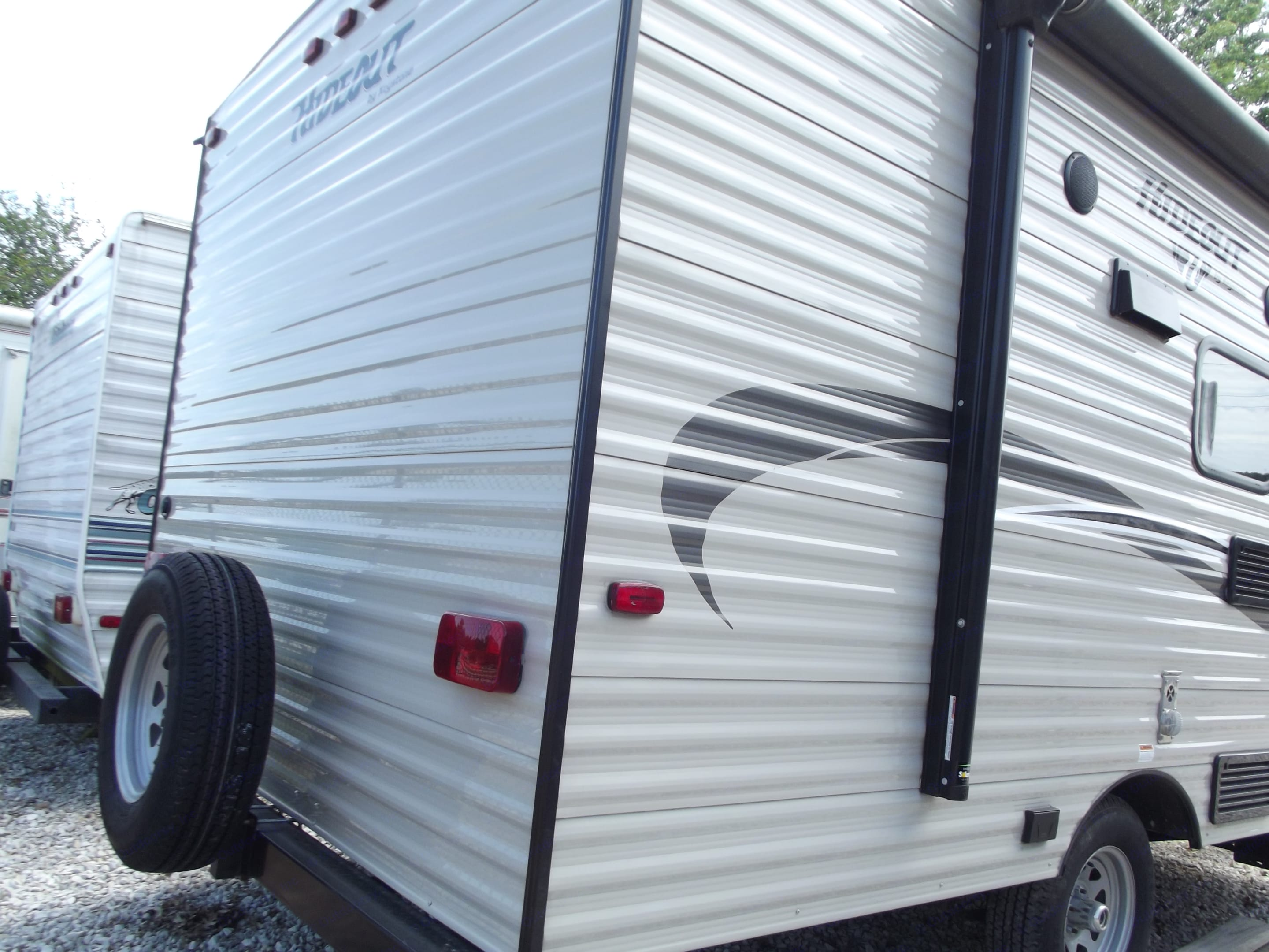 Electric awning and spare tire!. Keystone Hideout 175BH 2017
