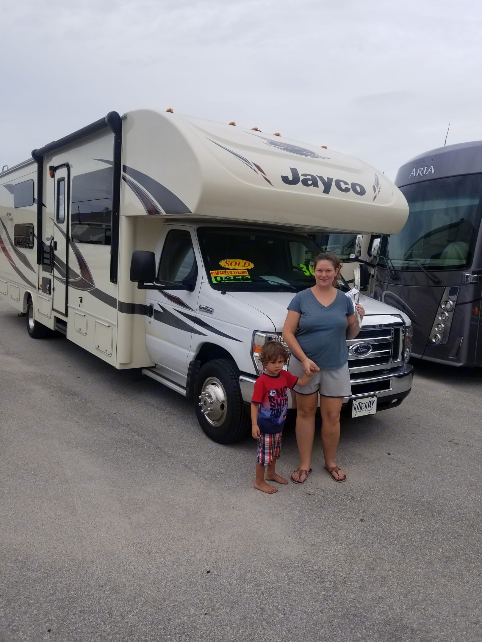 Our family loves our new RV and we hope that you will too!!. Jayco Redhawk 2017