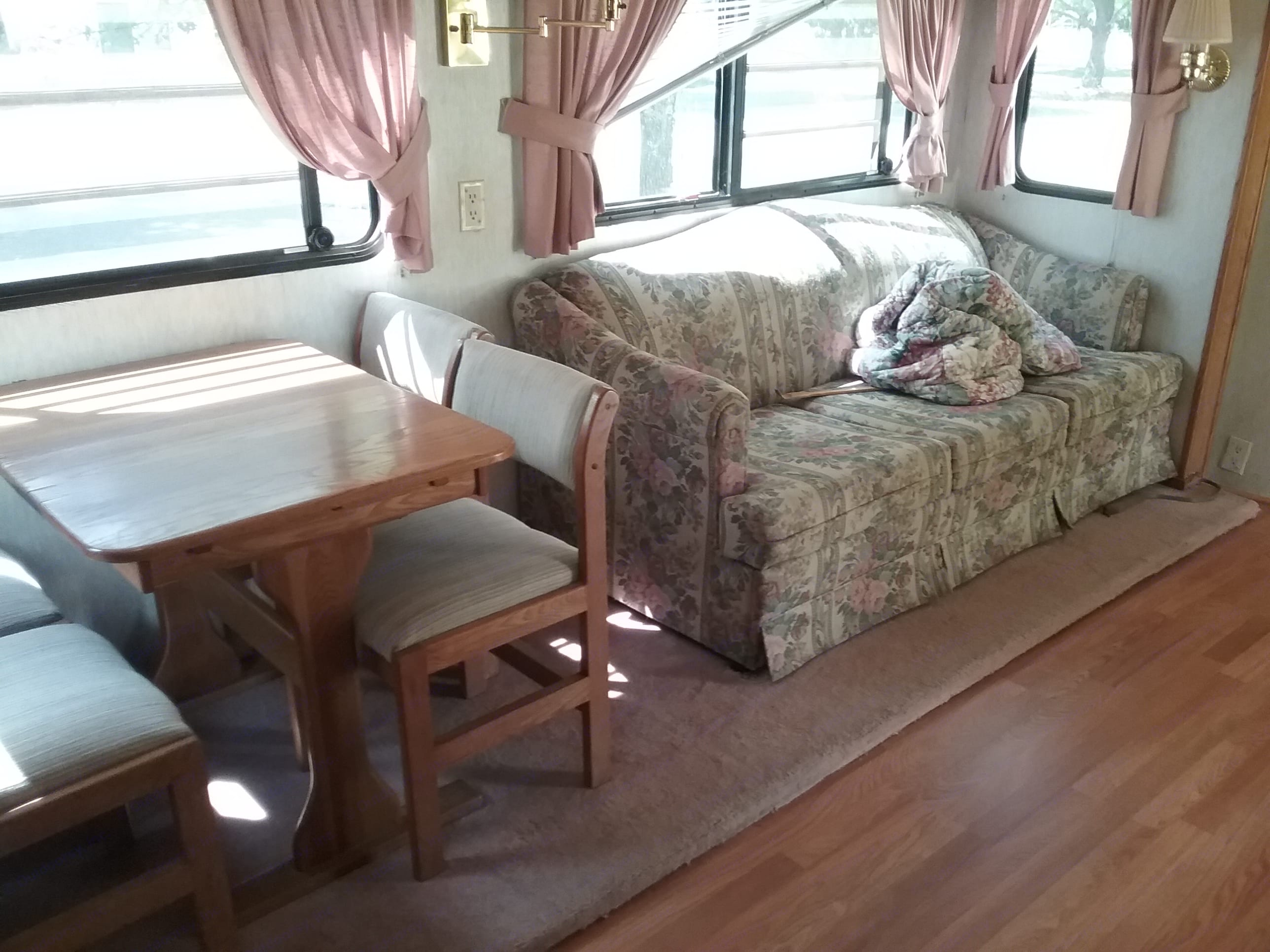 Dining Area and Sofa with pull-out bed (sleeps 2). Nu Wa Hitchhiker 2 1996