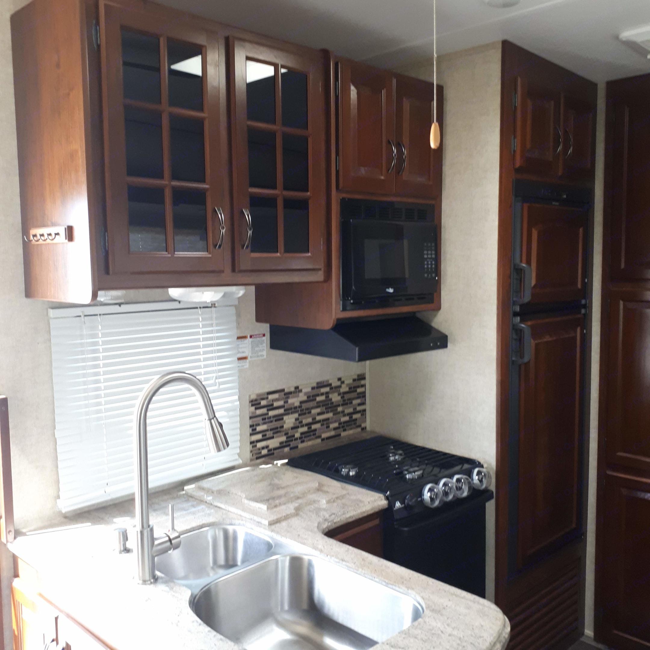 Kitchen Area. Keystone Avalanche 2013