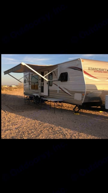 Whether you are at your favorite dry camping spot. Starcraft Autumn Ridge 2013