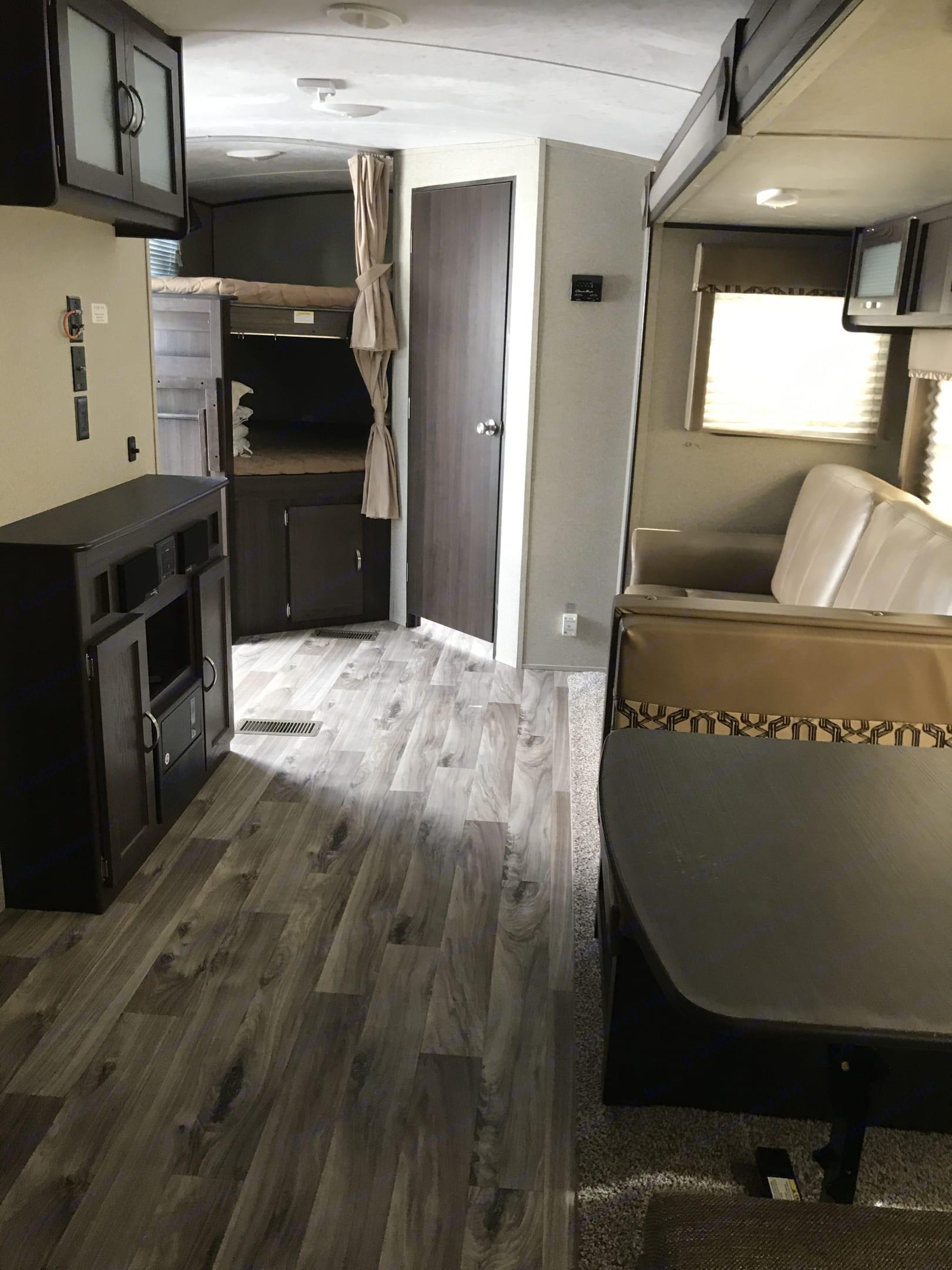 This is living area . Keystone Springdale 2019