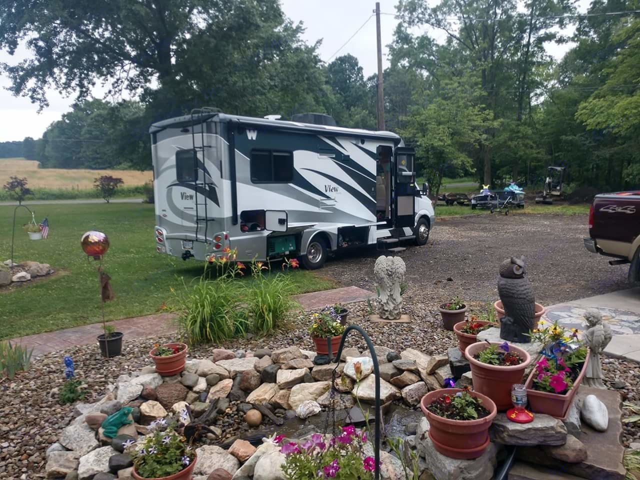 Just the right size to get around . Winnebago View 2013