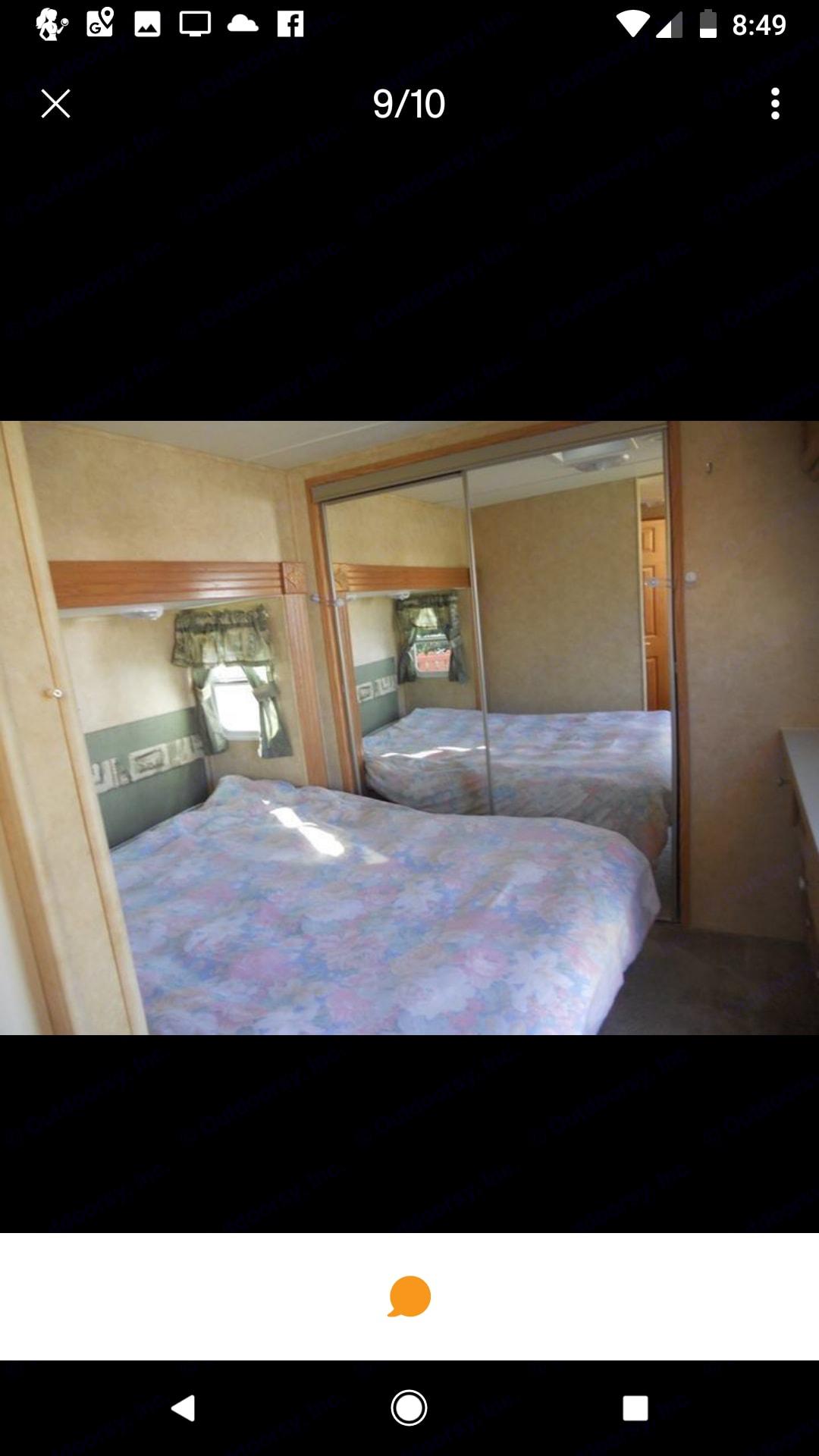 Master bedroom. Pilgrim International Pilgrim 2005