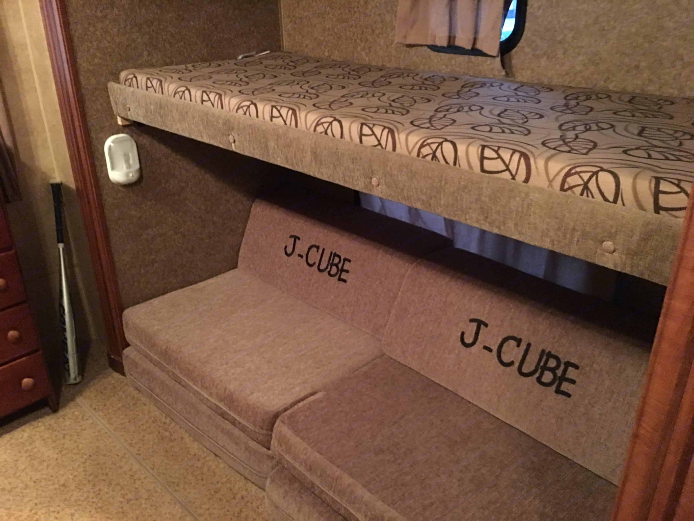 Rear bedroom slideout. Jayco Jay Flight 2012