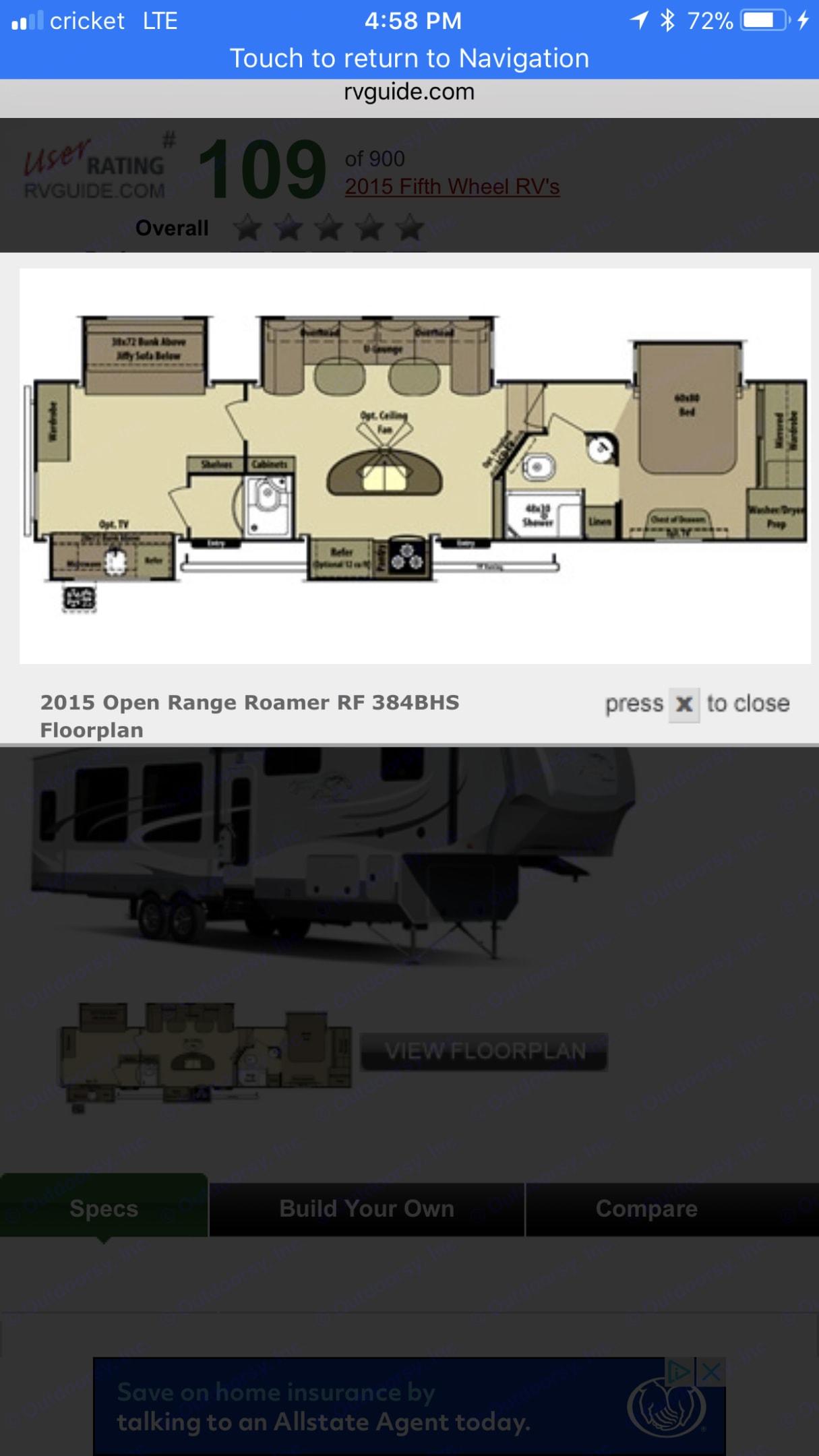 Open Range Roamer 2015