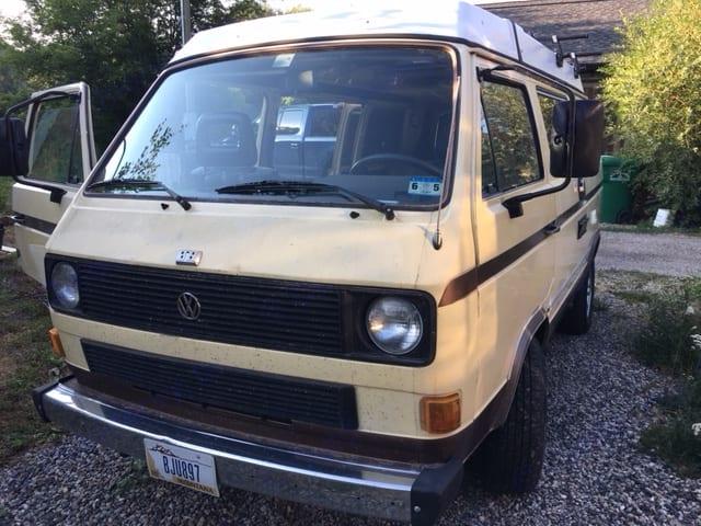Tex. Volkswagen Westfalia 1982